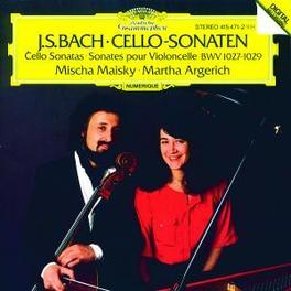 CELLO SONATEN BWV1027-29 MAISKY, M/ARGERICH, M Audio CD, J.S. BACH, CD