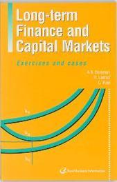 Long-term Finance and Capital Markets Dorsman, A.B., Paperback