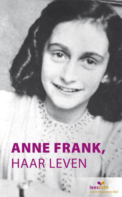 Anne Frank, haar leven Leeslicht, Marian Hoefnagel, Paperback