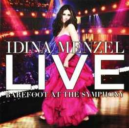 LIVE-BAREFOOT AT THE.. .. SYMPHONY IDINA MENZEL, CD