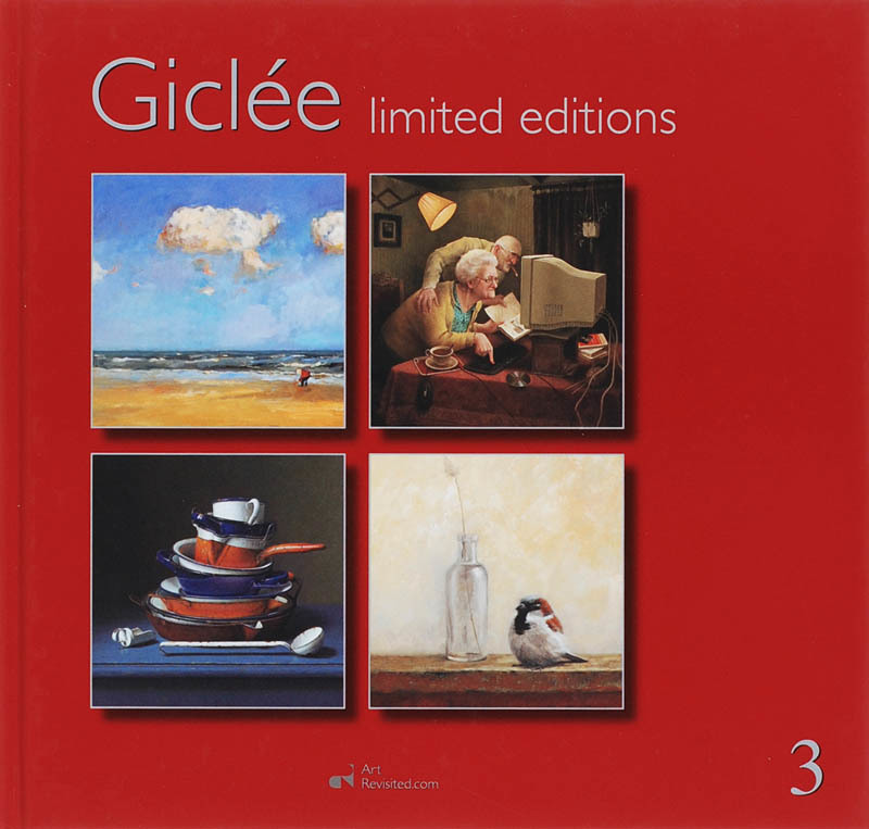 Giclee: 3 limited editions, Hoog, R. de, Hardcover
