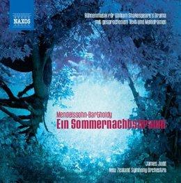 SOMMERNACHTSTRAUM NEW ZEALAND S.O./JUDD MENDELSSOHN-BARTHOLDY, F., CD