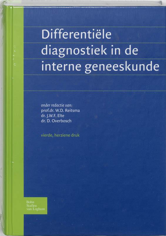 Differentiele diagnostiek in de interne geneeskunde Asklepios Stichting, Paperback