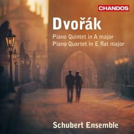 QUINTET NO.2 IN A MAJ/QUA SCHUBERT ENSEMBLE A. DVORAK, CD