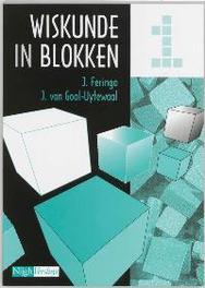 Wiskunde in blokken: 1 J. Feringa, Paperback