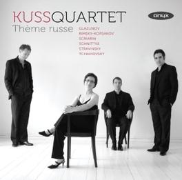 THEME RUSSE WORKS BY GLAZUNOV/RIMSKY-KORSAKOV/SCRIABIN KUSS QUARTET, CD