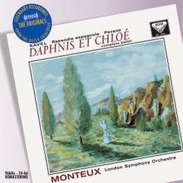 DAPHNIS ET CHLOE LONDON S.O./PIERRE MONTEUX Audio CD, M. RAVEL, CD