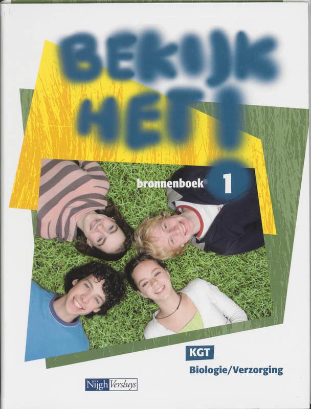 Bekijk het! KGT 1 Bronnenboek biologie/verzorging, B. Hendriks, Hardcover