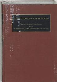 Justiz und NS-Verbrechen: 29 Sammlung deutscher Strafurteile wegen nationalsozialistischer Totungsverbrechen 1945-1999, C.F. Ruter, Hardcover