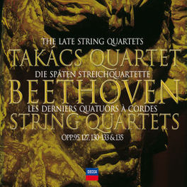 LATE QUARTETS TAKACS QUARTET Audio CD, L. VAN BEETHOVEN, CD