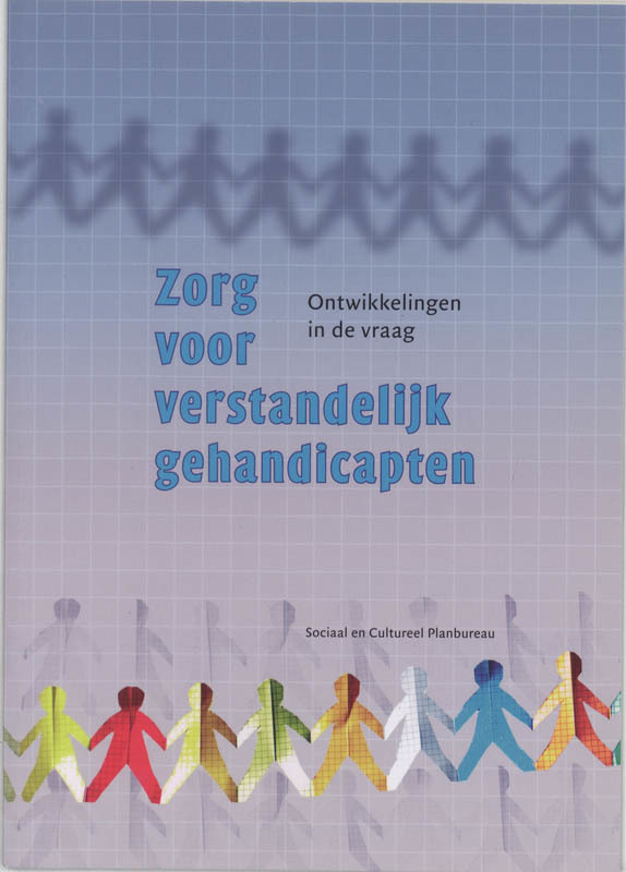 Zorg voor verstandelijk gehandicapen ontwikkelingen in de vraag, Jonker, Jedid-Jah, Paperback