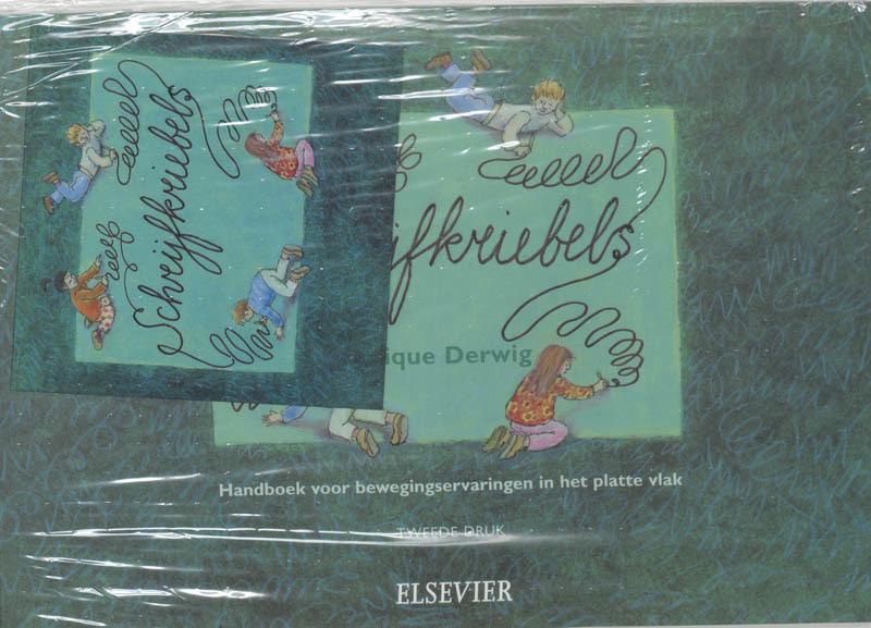 Schrijfkriebels handboek voor bewegingservaringen in het platte vlak, M. Derwig, Hardcover