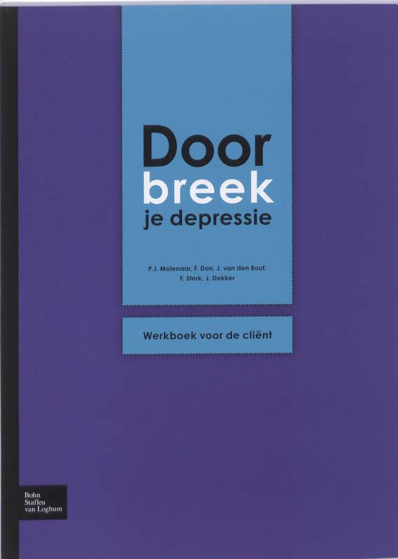 Doorbreek je depressie werkboek voor de client, P. J. Molenaar, Paperback