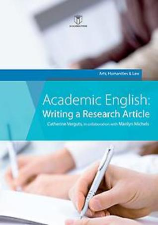 Academic English: Writing a Research Article - Arts, humanities & law