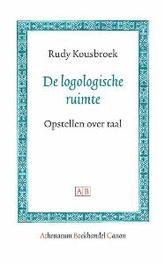 De logologische ruimte opstellen over taal, Rudy Kousbroek, Paperback