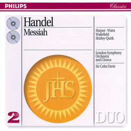 MESSIAH LONDON SYMPH.CHOIR&ORCH./DAVIS Audio CD, G.F. HANDEL, CD