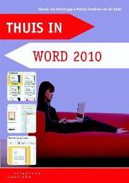 Thuis in Word 2010 Van Osnabrugge, Hannie, Paperback