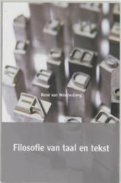 Filosofie van taal en tekst R. van Woudenberg, Paperback