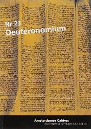 Deuteronomium 23 Amsterdamse cahiers, Paperback