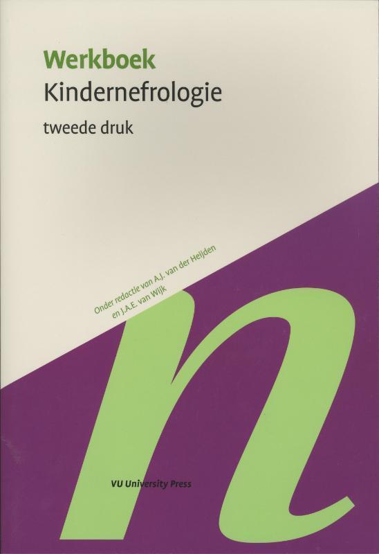 Werkboek kindernefrologie Werkboeken Kindergeneeskunde, Paperback