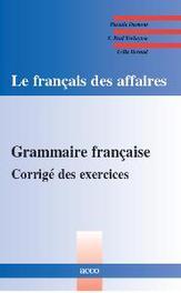 Grammaire francaise Corrigé  des excercices, Dumont, Pascale, Paperback
