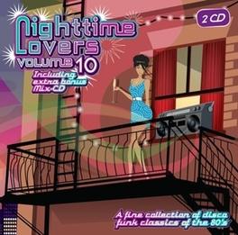 NIGHTTIME LOVERS 10 2CD EDITION W/ FRANKIE RODRIQUEZ' MEGAMIX Audio CD, V/A, CD