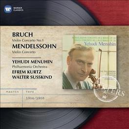 VIOLIN CONCERTOS YEHUDI MENUHIN BRUCH/MENDELSSOHN, CD