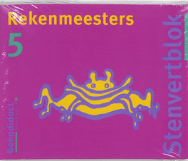 Rekenmeesters set 5 ex: 5: Leerlingenboek Stenvertblok, Groen, Lidy, Paperback