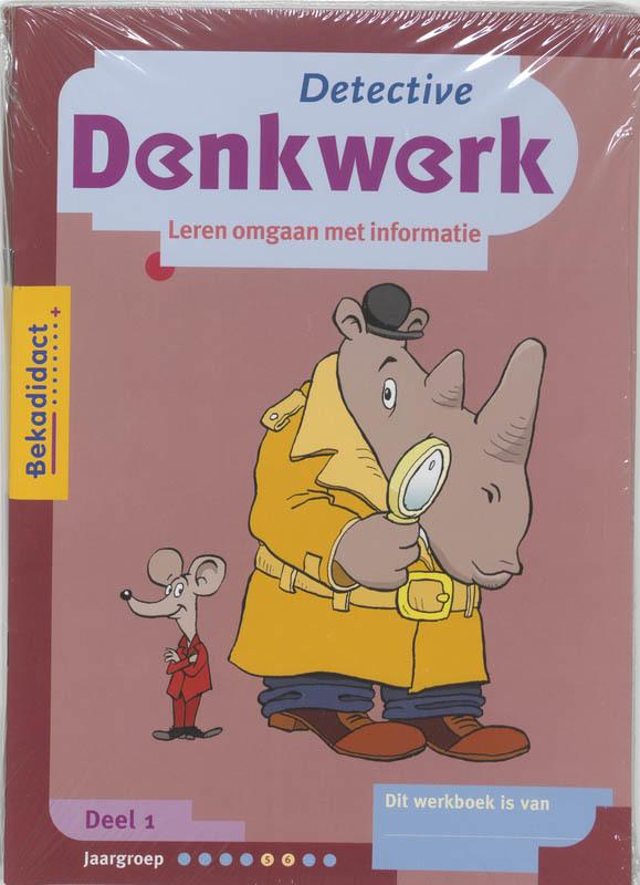 Detective Denkwerk set 5 ex 1 Werkboek E. HeyneHeyne, Paperback