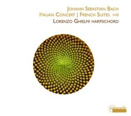 ITALIAN CONCERT/FRENCH SU LORENZO GHIELMI J.S. BACH, CD