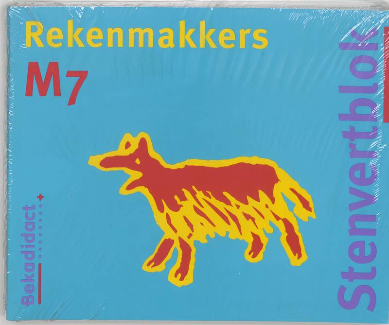 Stenfertblok rekenmakkers groep 7 (5 ex): M7: Leerlingenboek M. van der Borgh, Paperback