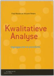 Kwalitatieve analyse uitgangspunten en procedures, Wester, Fokke, Paperback