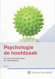 Psychologie de hoofdzaak R.P.I.J. Schreuder-Peters, Hardcover