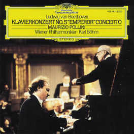 KLAVIERKONZERT NO.5'EMPER POLLINI/WP/BOHM Audio CD, L. VAN BEETHOVEN, CD