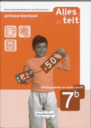 Alles telt: Leerlingenboek en werkschrift 7b: Antwoordenboek reken-wiskundemethode  voor het basisonderwijs, Bosch-Ploegh, Els van den, Paperback