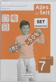 Alles telt (set 5 ex) Werkschrift 7 Reken-wiskundemethode voor het basisonderwijs, Paperback