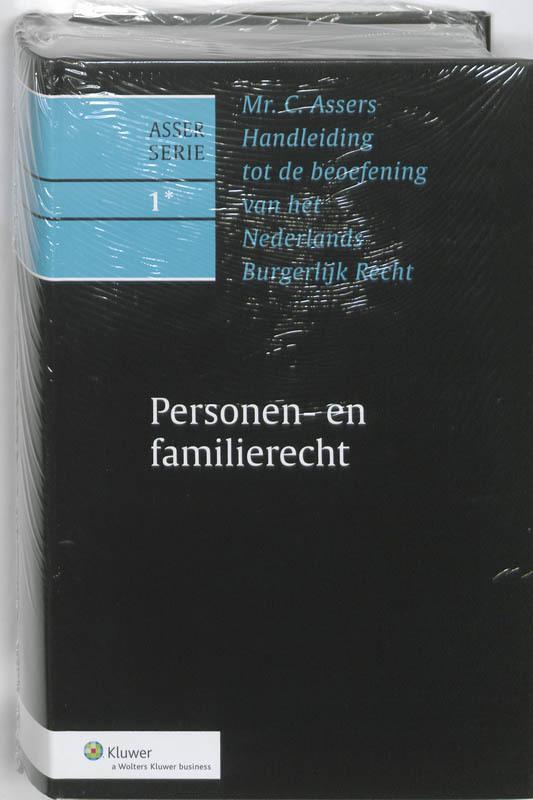 Personen- en familierecht Personen- en familierecht, C. Asser, Hardcover