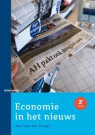 Economie in het nieuws Van der Cingel, Paul, Paperback