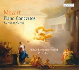 PIANO CONCERTOS KV466 & 4 ARTHUR SCHOONDERWOERD/CRISTOFORI W.A. MOZART, CD