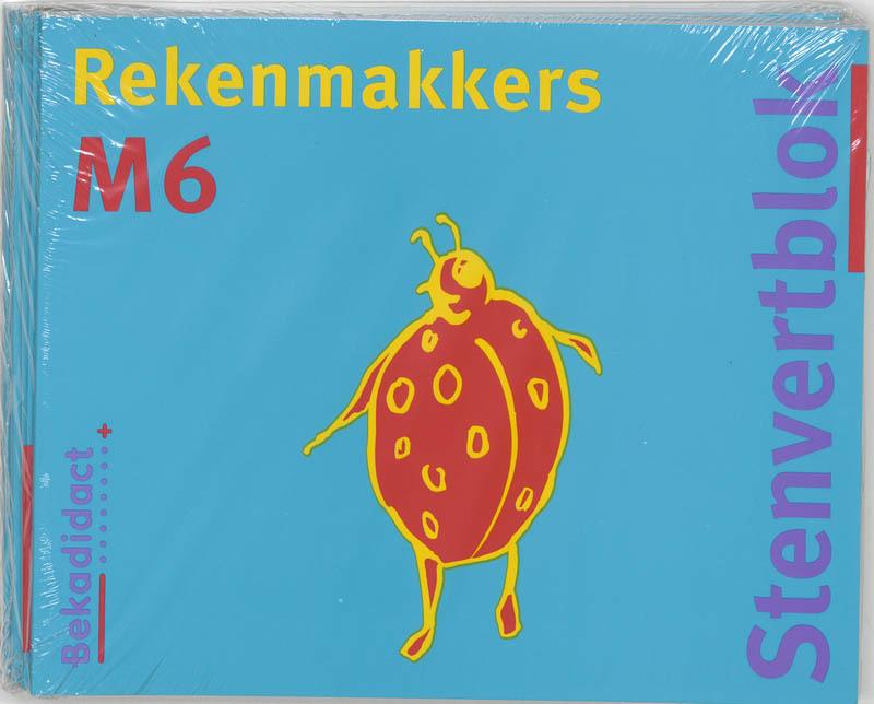 Rekenmakkers set 5 ex: M6: Leerlingenboek Stenvertblok, Borgh, M. van der, Paperback