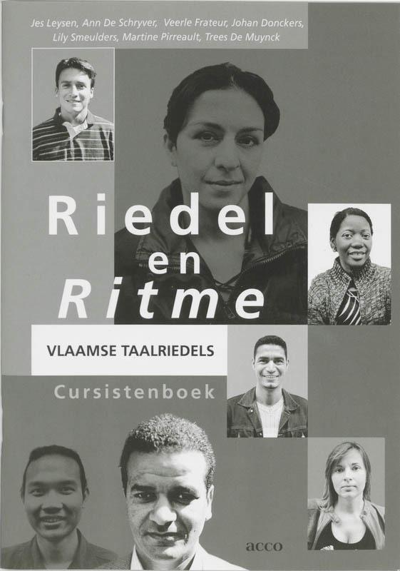 Riedel en ritme: Cursistenversie Vlaamse taalriedels : cursistenboek, Frateur, Veerle, onb.uitv.