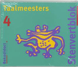 Taalmeesters set 5 ex: 4: Leerlingenboek Stenvertblok, E. Klok, Paperback