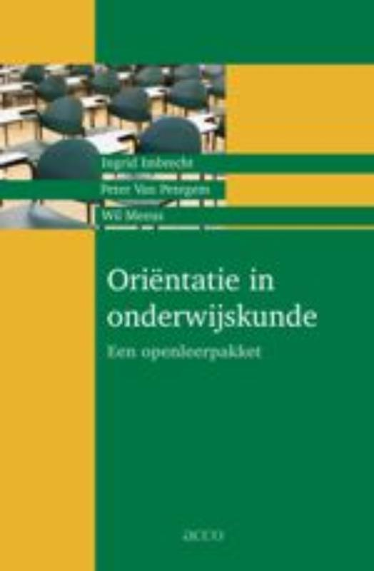 Orientatie in onderwijskunde een openleerpakket, I. Imbrecht, Paperback