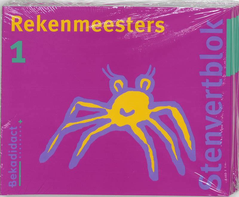 Rekenmeesters set 5 ex: 1: Leerlingenboek Stenvertblok, T. van Houtert, Paperback