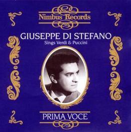 SINGS VERDI & PUCCINI RCA VICTOR ORCHESTRA/VOTTO, SERAFIN, KARAJAN... Audio CD, GIUSEPPE DI STEFANO, CD