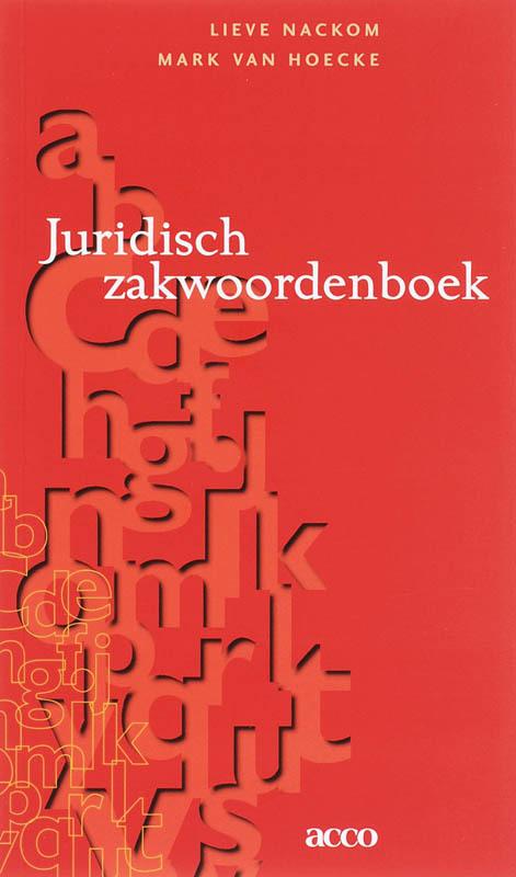 Juridisch Zakwoordenboek L. Nackom, onb.uitv.