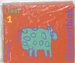 Taalblok set 5 ex 1 Euro Stenvertblok, Paperback