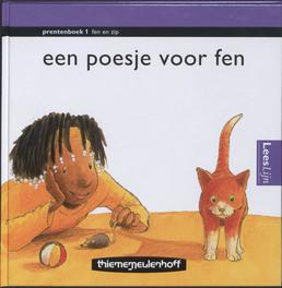 Leeslijn Nieuw Prentenboek 1 Poesje voor Fen serie fen en zip, Baar, Kees de, Hardcover