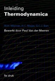 Inleiding Thermodynamica Wisman, W.H., Paperback