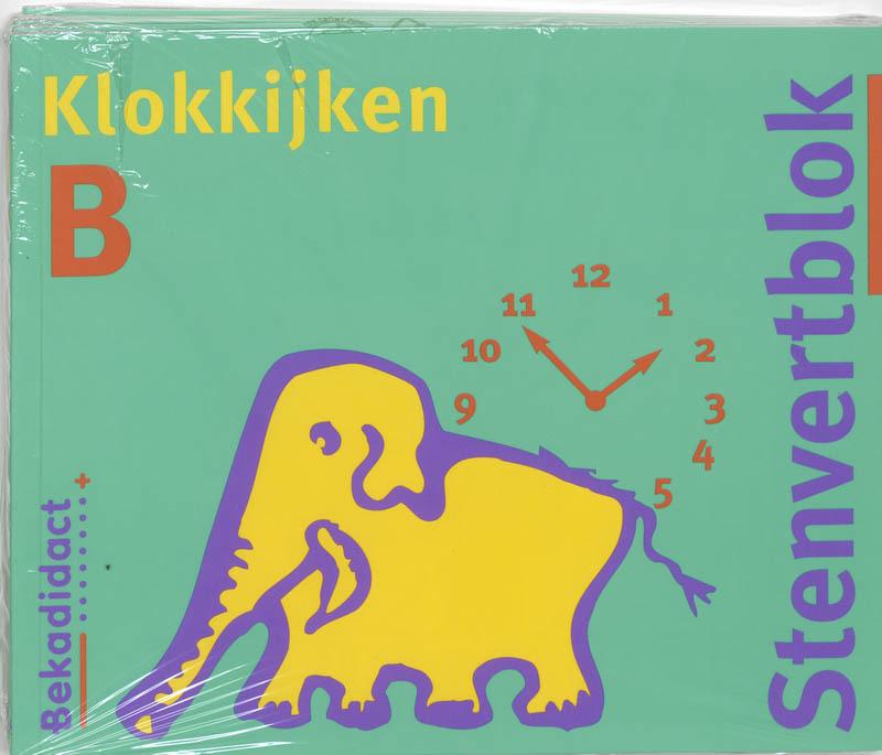Stenvert B Groep 4/5 5 ex Klokblok Paperback